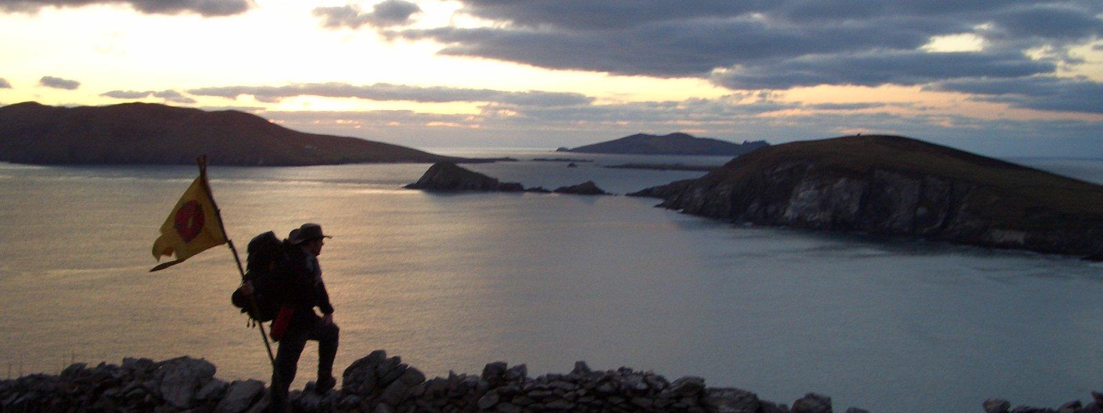 Sonnenuntergang am westlichsten Punkt Europas (Irland 2008)