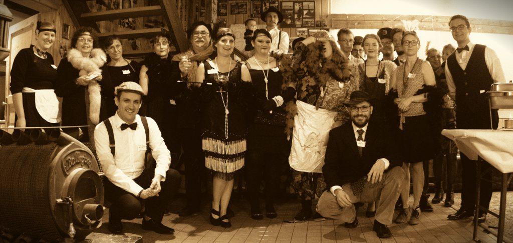 Gruppenfoto der Künstlergesellschaft